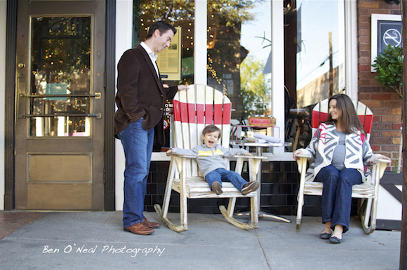 Awesome Family Lifestyle Image in Bishop Arts District in Oak Cliff | Oak Cliff Dallas Family Photographer